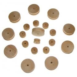 C-6095  Pulleys wood