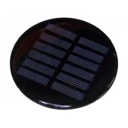 C-0125 Panneau solaire rond...