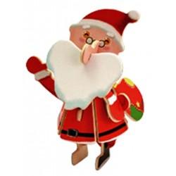 C-9790   3D Santa Claus puzzle