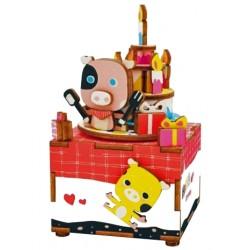 C-9796  Puzzle 3D Boîte de...
