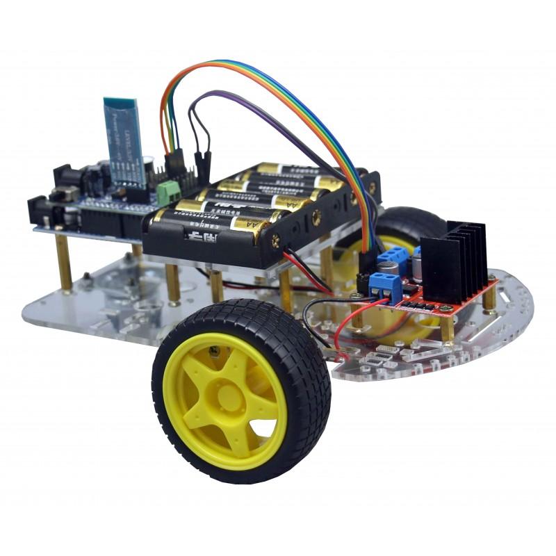 Belajar Membuat Mobil Arduino Dengan Kontrol Bluetooth
