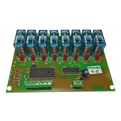 T-8 8 RELAY OUTPUTS BCD...