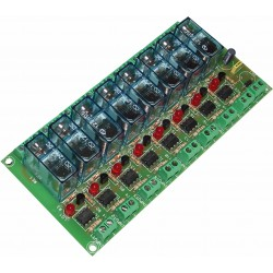 T-6 Interface 8 relays...