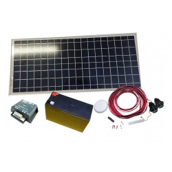 PS-20  Pack solar complet...
