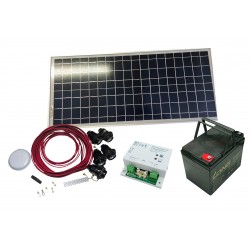 PS-50   Pack solar complet...