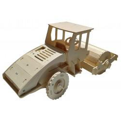 C-9915  Rouleau en bois 3D