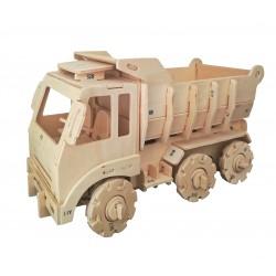 C-9917  3D wooden dump truck
