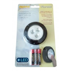 EX-LPE221   Luz de led a pilas