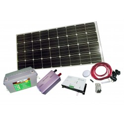 PS-100   Pack solar complet...