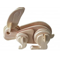C-9772 Puzzle 3D Rabbit