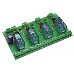 T-21 Interface 4 relay...