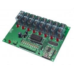 USB.T-102   8 Sortie relais...