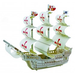 C-9714  Puzzle Vaixell 3D
