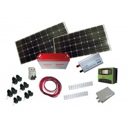 PS-200  Pack solar complet...