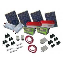 PS400  Pack solar complet...