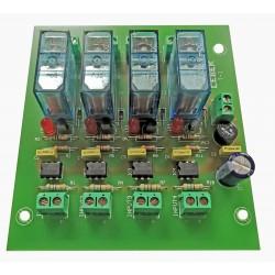 T-1C Interface 4 reles...