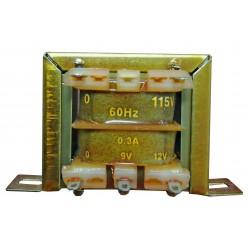 TAFE-1  Transformer 0-9-12V...