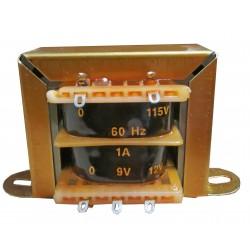 TAFE-3  Transformer 0-9-12V...