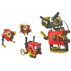 C-9882  Robot motorizado 4x1