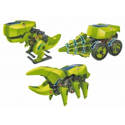 C-9928  Robot solar Dino 3x1